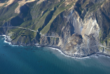 A major landslide in Big Sur, California in 2017 covered a quarter-mile of Highway 1. It was not the only landslide to limit access to the highway in 2017, and repair estimates exceed $40 million.