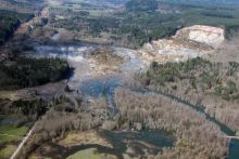 2014 Oso, Washington Landslide. Image Credit: USGS/Photo by Mark Reid