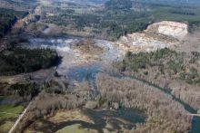 2014 Oso, Washington Landslide. Image Credit: USGS/Photo by Mark Reid