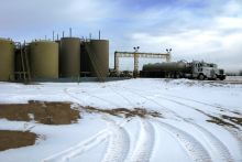 Wastewater disposal facility in Colorado. Image Credit: USGS/Photo by William Ellsworth