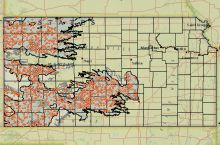 Screenshot of the KGS High Plains Aquifer Interactive Atlas