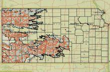 Screenshot of the KGS High Plains Aquifer Interactive Atlas
