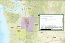 Screenshot of the Washington State Coal Mine Map Collection