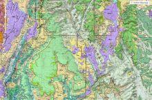 Screenshot of interactive map of Utah