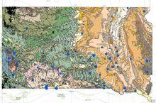 Screenshot of South Dakota Oil & Gas Resources map