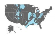Interactive map of operating nuclear power reactors in the United ...