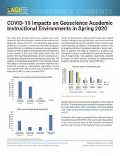 cover of Currents Data Brief 2020-006