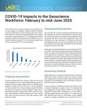 cover of Currents Data Brief 2020-008