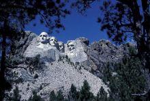 Precambrian granite of Mt. Rushmore, South Dakota