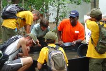 USGS leading an outreach experience
