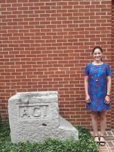 Meg Freiberger, AGI Summer 2016 Geoscience Policy Intern