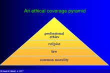 GOLI Course: Fundamentals of Professional Ethics: Elements and Examples; Image courtesy of David Abbott