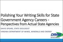 Writing for State Government Careers Webinar cover image
