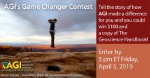Alison Dorsey - from AGI Life as a Geoscientist 2014 contest