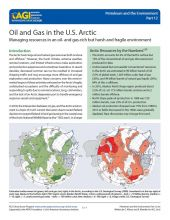 Cover of Oil and Gas in the U.S. Arctic