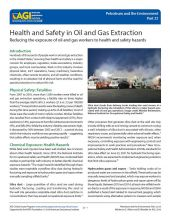 Cover of Health and Safety in Oil and Gas Extraction