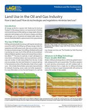 Cover of Land Use in the Oil and Gas Industry