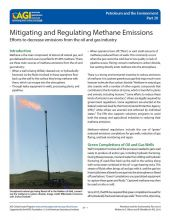 Cover of Mitigating and Regulating Methane Emissions