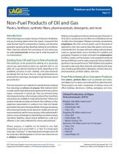 Cover of Non-Fuel Products of Oil and Gas