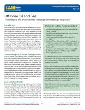 Cover of Offshore Oil and Gas
