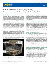 Cover of The Pinedale Gas Field, Wyoming