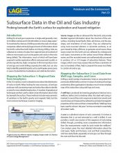 Cover of Subsurface Data in the Oil and Gas Industry