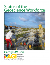 Status of the Geoscience Workforce 2018. Report by Carolyn Wilson.