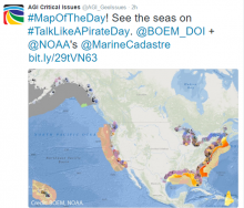 Interactive Map of Coastal and Marine Geoscience Features. Image Credit: NOAA, BOEM
