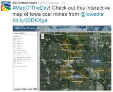 #MapOfTheDay! Check out this interactive map of Iowa coal mines from @iowadnr  http://bit.ly/23DKXga