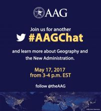 Flyer for the May 17, 2017 #AAGChat