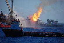 Image of Deepwater Horizon explosion