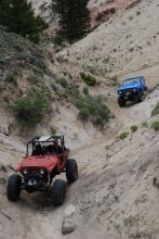 Do you know what rock crawling is? It's an extreme form of off-road driving over rough terrain like boulders, piles of rock and mountain foothills. Rock crawlers drive slowly and carefully, attempting to clear objects that sometimes seem impassable.