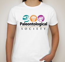 Paleontological Society T-Shirts are available through September 6, 2017