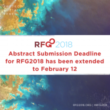 RFG 2018 abstract deadline has been extended