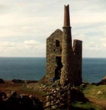 Ruined Cornish Tin Mine (1977)