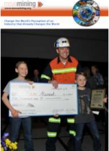 Photo of Team Atwood winning the Move Mining Competition