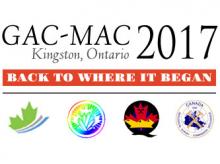 Announcement for the 2017 GAC-MAC Annual Meeting