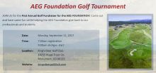 From the AEG Foundation Golf Tournament website