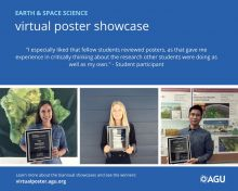 Virtual Poster Showcase flyer