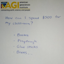 How would you spend 500 dollars on your classroom?