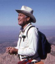 Bill Thomas in the field