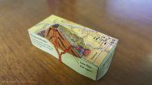 Stratovolcano paper model
