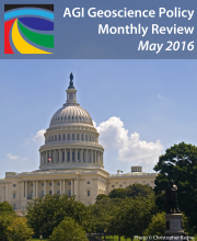 Promotional Image of Capital, Geoscience Policy Monthly Review