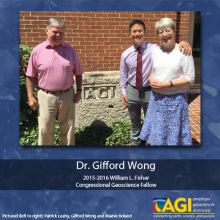Picture of Patrick Leahy, Gifford Wong and Maeve Boland