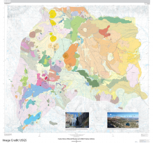Geologic Map of Eruptive History of Mammoth Mountain and its Mafic Perifphery, California