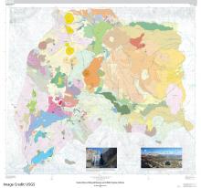 Geologic Map of Eruptive History of Mammoth Mountain and its Mafic Perifphery, California