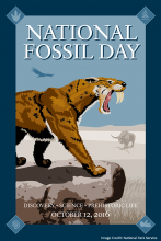 2016 National Fossil Day Poster