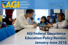 Federal Geoscience Education Policy Review: Jan-June