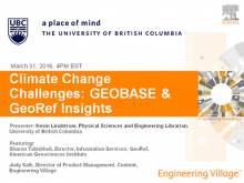 Climate Change Research in Geobase and GeoRef