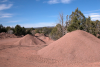 Industrial sand mined in Utah. Image Credit: Bureau of Land Management
